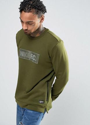 Nike fc crew neck кофта свитшот xxl