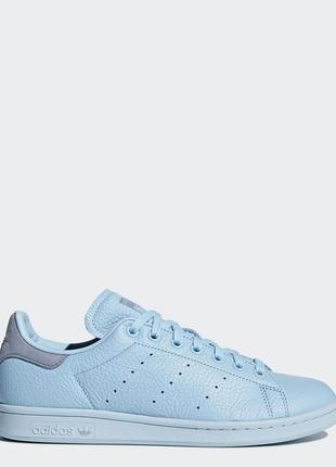 Кроссовки stan smith icey blue/icey blue/tactile blue 36