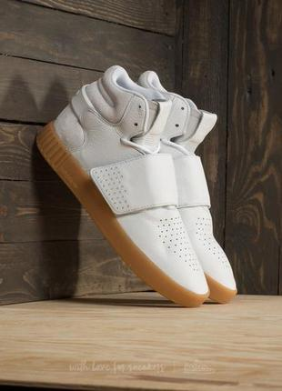 Adidas originals tubular invader straps кожа замша 46