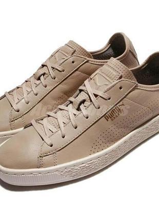 Puma basket classic soft кеды 42 кроссовки кожа
