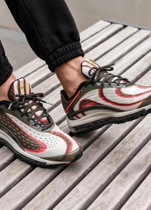 Nike air max deluxe кроссовки обувь балон найк  43