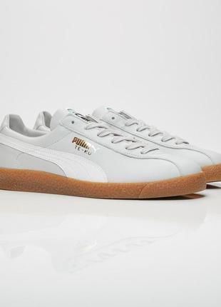 Puma te ku кожа suede кеды кроссовки 42