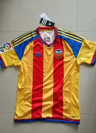 Adidas fc valencia away jersey 15/16  футбол футболка валенсия...