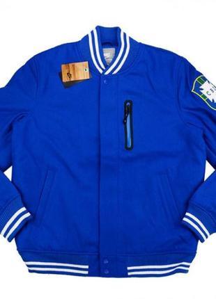 Nike wool brazil bomber jacket куртка ветровка осень m весна найк