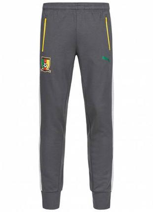 Спортивки  cameroon puma sweat pants футбол манжеты s