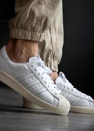 Adidas originals  superstar recon  кожа кроссовки обувь 43