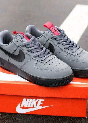 Кроссовки мужские Nike Air Force Dark Grey. Артикул 386i.