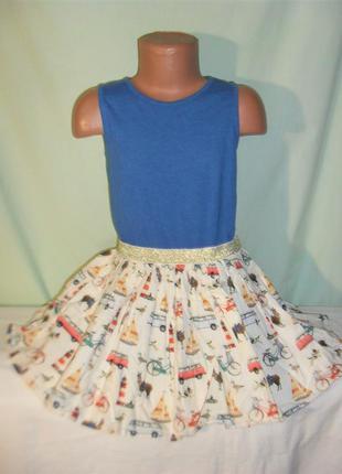 Платье на 5лет рост 110