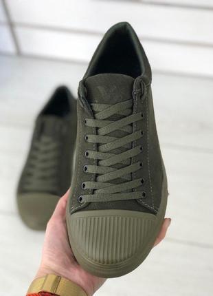 Lux обувь! натуральные мужские кеды кроссовки нубук❗️2 цвета