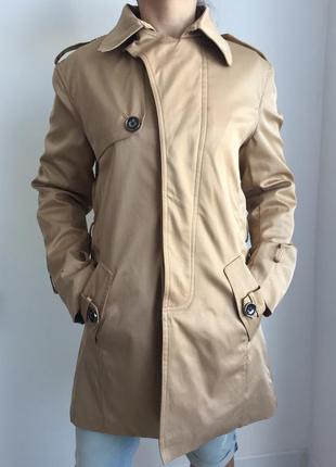 Пальто, плащ трендовий, від yidannajingpinfushi, тренч бежевий.