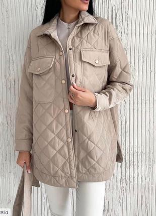 Стёганое пальто синтепон 150