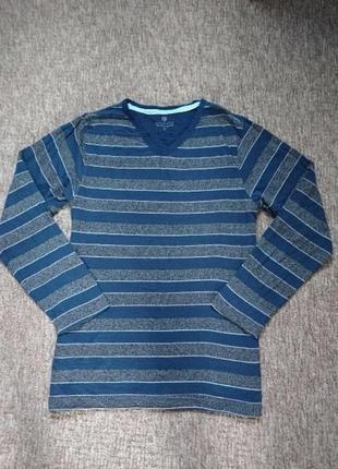 Приятная на ощупь кофта, футболка с длиным рукавом мужская