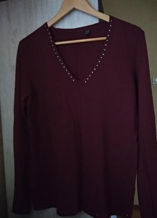 Мягусенький свитер пуловер tcm tchibo германия евро 36-38