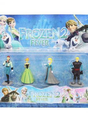 "Уценка. Фигурки-персонажи ""Frozen"", вид 2 - не качественно нан..."