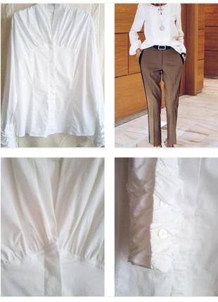 Шикарная, акцентная блуза из хлопка !