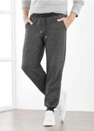 Теплые штаны, джоггеры на флисе м 48-50 euro livergy, германия