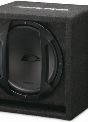 Сабвуфер Alpine SBE-1044BR 500W