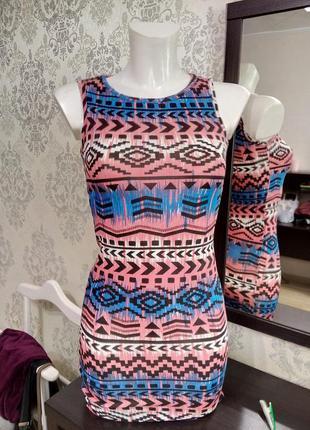Летнее платье зауженное new look