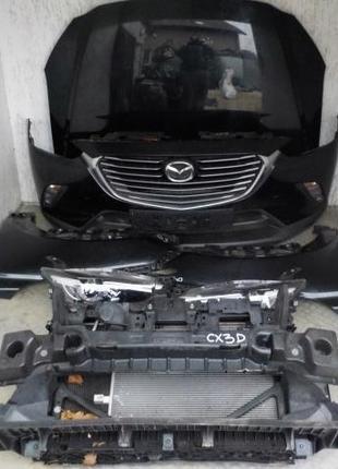 Б/у Бампер передний, задний Mazda CX-3