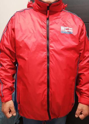 Водоотталкивающая куртка + пристегивается жилетка на флисе