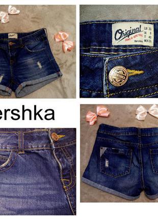 Джинсовые шорты bershka