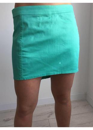 Юбка, спідниця, бирюзовая юбка.