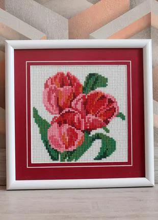Картина Тюльпаны Алмазная мозаика