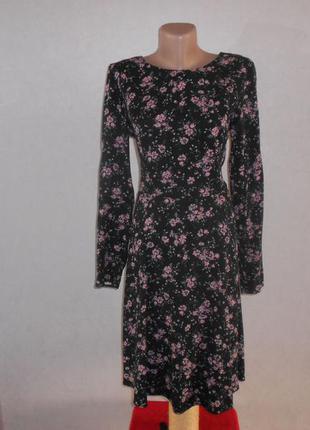 George великолепное платье из плотной вискозы в цветочный прин...