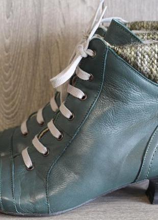 Кожаные ботинки, ботильоны в винтажном стиле bonprix selection...