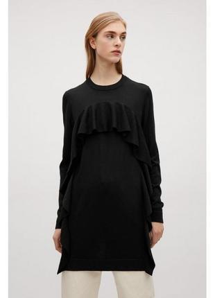 Cos платье шерстяное, туника 100 % шерсть