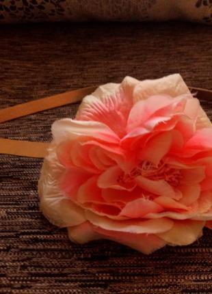 Очень детский красивый пояс next с цветком