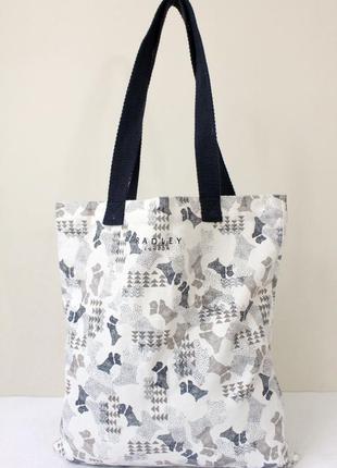 Текстильная сумка шоппер radley