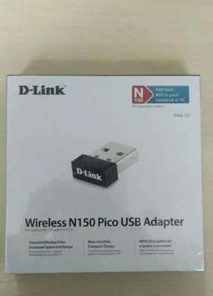 Wi-Fi адаптер D-Link N150 USB