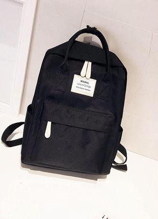 Стильный молодежный женский водонепроницаемый рюкзак-сумка waw...