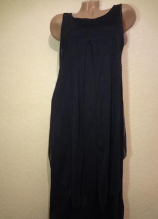 Интересное эксклюзивное длинное платье lola h. размер м