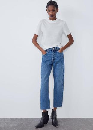 Прямые джинсы от zara