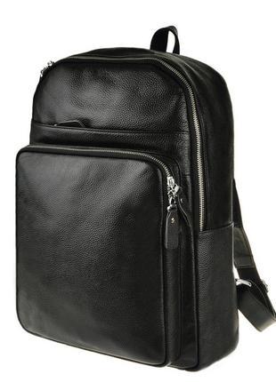 """Рюкзак кожаный для ноутбука 13""""14"""" мужской классический анатом..."""