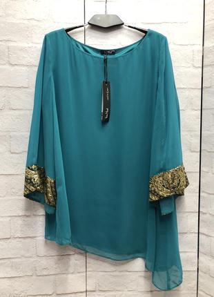 Нарядная блуза немецкого бренда vera mont (2088)
