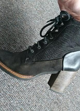 Тамарис ботиночки женские