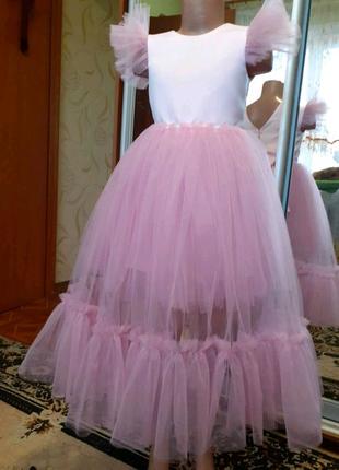 Платье со съёмной юбкой