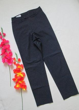 Фирменные классические  стрейчевые темно-синие брюки mexx