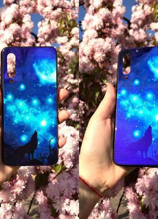 Стеклянный чехол для xiaomi samsung huawei apple iphone