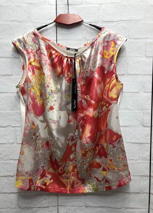 Нарядная блуза немецкого бренда vera mont (2092)