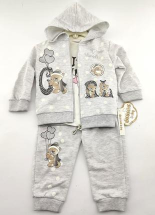 Детский костюм 6 9 12 18 месяцев
