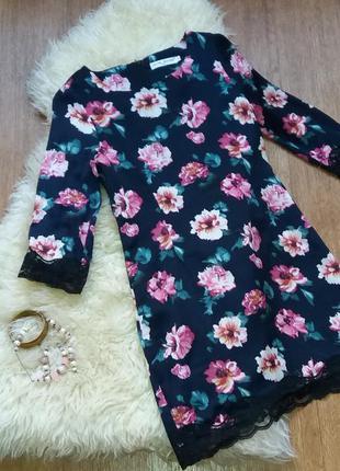 """Платье нарядное """"цветы"""""""