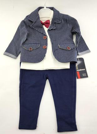Детский нарядный костюм 6 9 12 18 месяцев