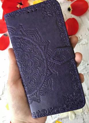 Чехол книжка с визитницей для samsung, xiaomi