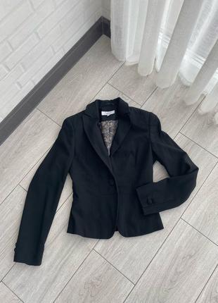 Черный строгий пиджак next