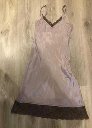 Платье в бельевом стиле от birger et mikkelsen