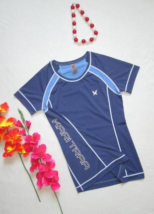 Брендовая спортивная качественная футболка kari traa